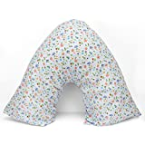 Adamlinens Pillowcase for V Shaped Pillows Printed Retro V Pillow Case Cover Only