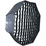 Phottix Octa Easy up fenêtre Diffuseur HD-Softbox Octa Easy up HD avec grid 120 cm