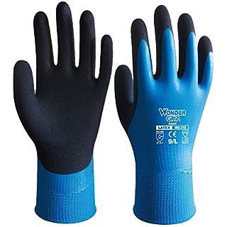 boutique1583 Wonder Grip Gants Latex Nylon Manipulation Entièrement Recouvertes Travail Construction