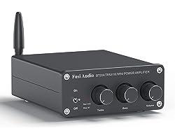 BT20A Bluetooth 5.0 Stéréo Audio Récepteur Amplificateur à 2 Canaux, Mini Hi-FI Classe D Ampli Intégré 2,0CH pour Les Enceint