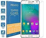 PREMYO verre trempé Samsung A7. Film protection Samsung Galaxy A7 avec un degré de dureté de 9H et des angles arrondis 2,5D. Protection écran Galaxy A7