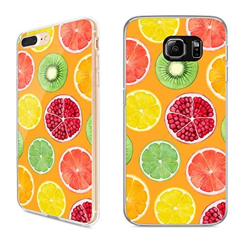 Premium Handyhülle 'Tropical' für Samsung Galaxy - Silikon   Tropen   Palmen   Urlaub   Strand   Ananas   Früchte   Flamingo, Handy:Samsung Galaxy S6, Hüllendesign:Design 6   Silikon Klar (Urlaub Flamingo)