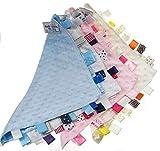 Weiches Kuscheltuch- Schnuffeltuch -Schmusetuch Trösterchen Comforter in 4 Farben