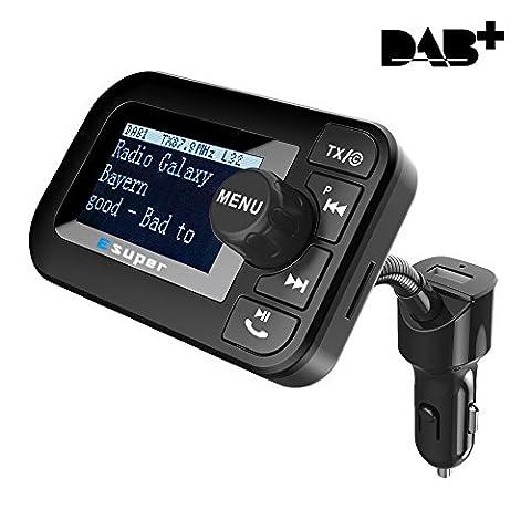 Esuper DAB / DAB + Radio mit FM Transmitter für Auto ( Crystal Digital Sound, 2.0