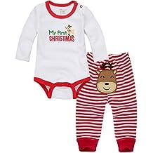 Vine Baby Weihnachten kostüm lange Ärmel Kitz Strampler Weihnachtskostüm Unisex Baby Body + Hose