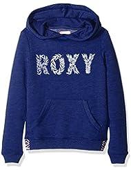 Roxy Riding Owls Wildflat - Sudadera con capucha para niña, color azul , talla XL