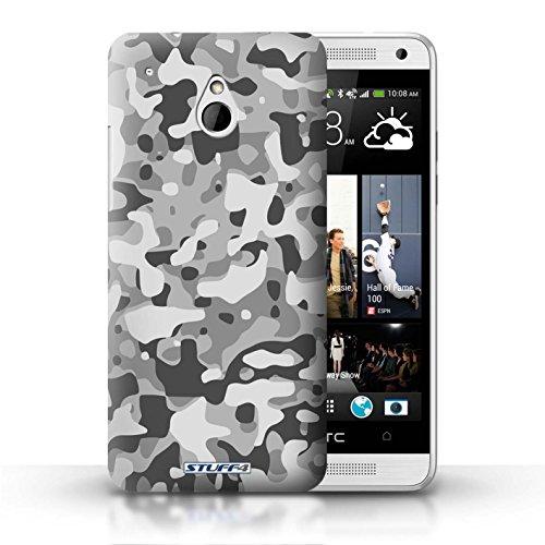 Kobalt® Imprimé Etui / Coque pour HTC One/1 Mini / Vert 4 conception / Série Armée/Camouflage Blanc 3