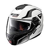 Nolan N90-2 Straton N-Com Helm L (60) Weiß/Schwarz