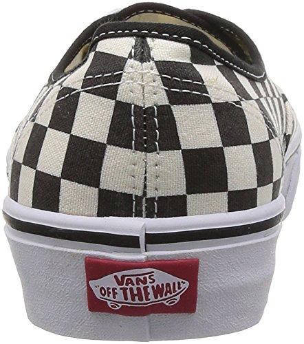 Vans U AUTHENTIC VSCQ80J, Sneaker unisex adulto Black (Noir (Black/White Checker))