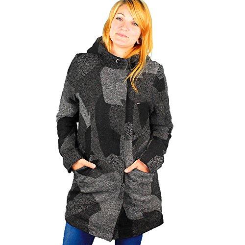 Khujo Cattleye 1561JK163 Damen-Winterjacke Multi Pattern (E03) Gr. XXL