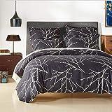 DVFNDIV 3 Stück Bettbezug-Set, Mikrofaser-Bettbezug Bedruckte Bettwäsche-Sets - luxuriös (Color : 12, Size : Single)