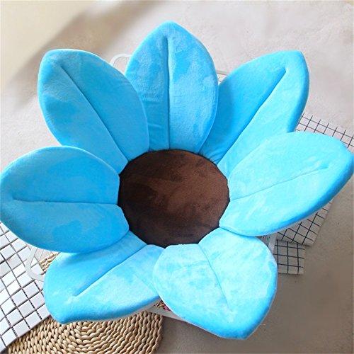 Zantec Cojín con forma de Pétalos para bebé Blooming baño flor Estuche de seguridad de bebé plegable Accesorios de baño para niños