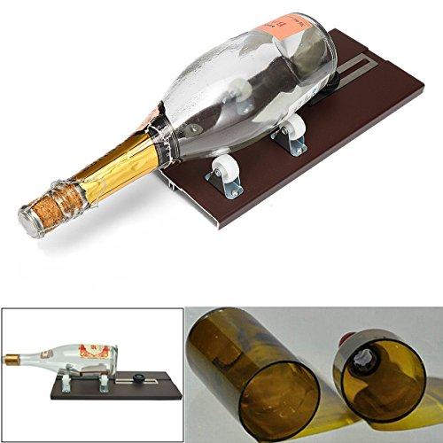 Wchaoen Glas Bier Weinflasche Glas Cutter Scoring Machine DIY Recycling Tool Kit Werkzeugzubehör -