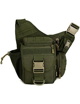 Freedom-vp Damen Herren Military Tactical Umhängetasche schlutertasche Rucksack mit einem Gurt Sling Bags einseitige...