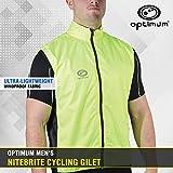 OPTIMUM Nitebrite - Chaleco de ciclismo para hombre verde verde Talla:large