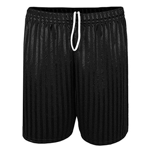 mens-shadow-stripe-drawstring-football-sports-shorts-black-l
