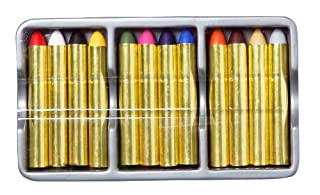 Anniversaire Kermesse - 12 Crayons Maquillage pour Enfants - Lavable à l'Eau (B005I4RE48) | Amazon price tracker / tracking, Amazon price history charts, Amazon price watches, Amazon price drop alerts