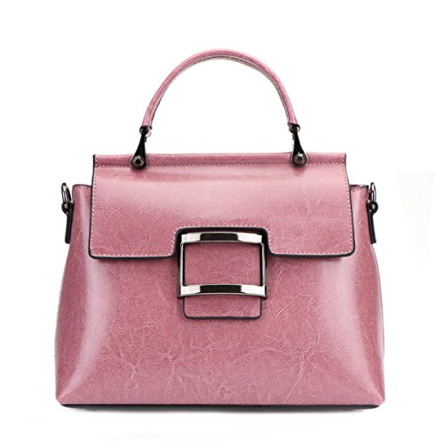 Borsa A Tracolla Moda Da Donna In Morbida Pelle Grandi Borse A Tracolla Da Donna Shopper Shopping Borsa Da Palestra Borsa Da Ginnastica Di Colore Rosa
