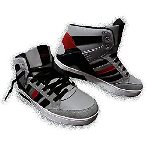 Bamba zapato calzado hombre chico zapatilla de deporte y ciudad modelo DURBAN con puntera redonda y suela antideslizante mws1119 (serie1