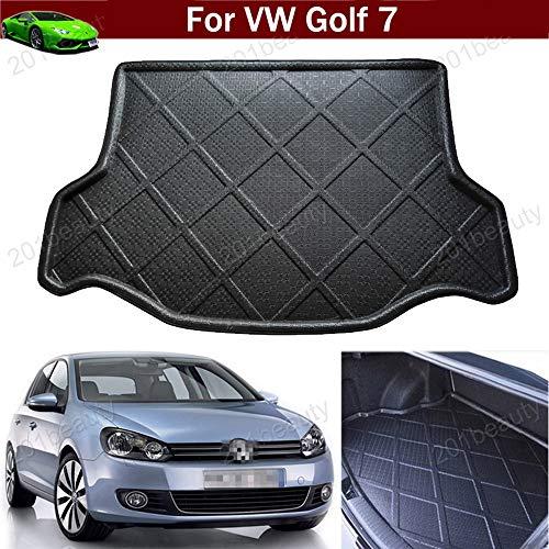 Auto-Matte Teppich Auto-Kofferraummatte Kofferraumabdeckung Gepäckraumschale Gepäckraumschale Gepäckraumabdeckung Kofferraummatte Kofferraummatte Tray Bodenmatte für Golf 7 MK7 2013-2020