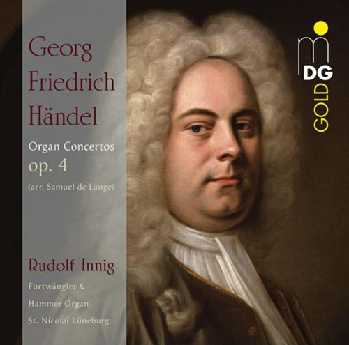 Händel: Orgelkonzerte (Bearb. Von Samuel de Lange)