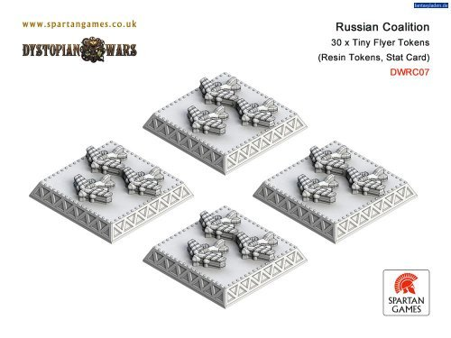 dystopian-wars-russian-coalition-tiny-flyer-tokens-30-by-spartan-games