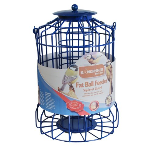 Kingfisher BF007FB Squirrel Guard Fat Ball Feeder Test