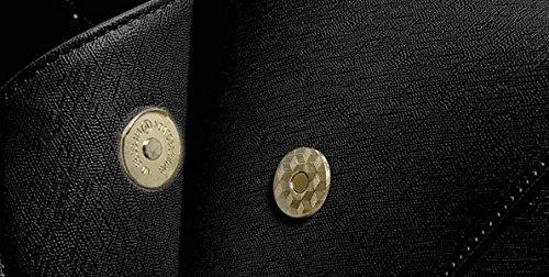 Borsa Donna Borsa A Tracolla Moda Elegante Tote Bag Pu Messenger In Pelle Donna Borsa Donna Nero Borsa Oro