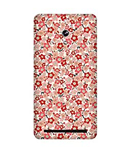 Red And Pink Asus Zenfone 6 Case