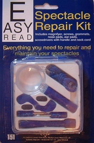 Easy Read Spectacle Repair Kit by Generic (Deluxe Eyeglass Repair Kit)