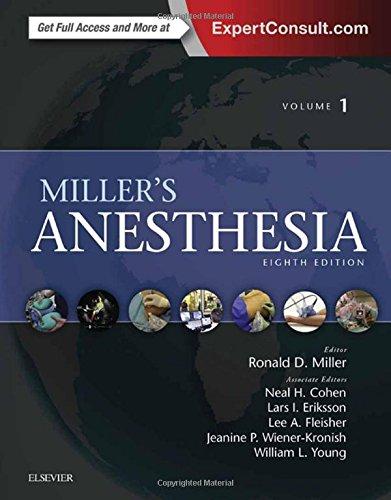 Miller's Anesthesia, 2-Volume Set, 8e