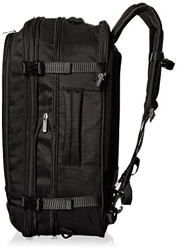 AmazonBasics 46 Ltrs Carry-On Travel Backpack, Black Image 6