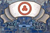 Posterlounge Alu Dibond 60 x 40 cm: Banner of peace di Nicholas Roerich