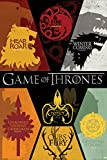 Grupo Erik Editores Game of Thrones Sigils Poster, Papel, 24 x...