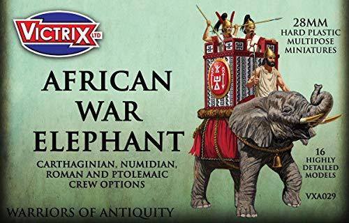 Victrix VXA029 - Elefante Africano De Guerra - Juego