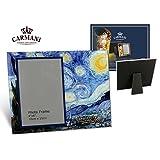 Carmani - Glas-Foto-Rahmen, Bilderrahmen Porträt Bild Landschaft Frames von Van Gogh 'Sternenklare Nacht'