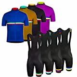 Uglyfrog Magliette Jersey +Salopette Uomo Mountain Bike Manica Corta Camicia Top Abbigliamento ciclismo Body Estate Style 18-13