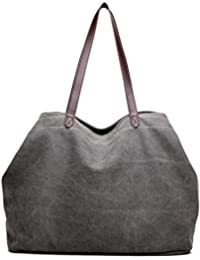 27993e1c13bd Amazon.co.uk  Grey - Totes   Women s Handbags  Shoes   Bags