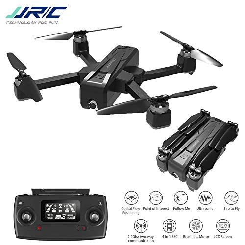 DishyKooker aeromobili radiocomandati Drone JJ-RC X11 5G WiFi FPV con Fotocamera 2 carati GPS 20 min Tempo di Volo Pieghevole RC Drone Quadcopter vs f11 b4w sg906 3 Battery