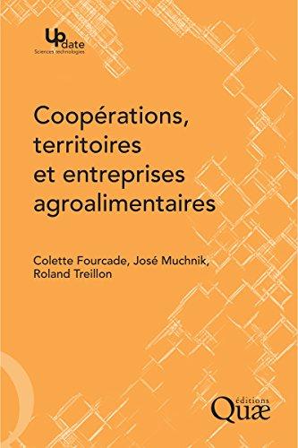 Couverture du livre Coopérations, territoires et entreprises agroalimentaires