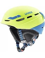 Uvex P.8000 Tour Winter Fahrrad Helm Gr. 55-59cm grün/blau 2018