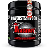 Stärkster EU HARDCORE Booster - 600g - HOCHDOSIERT - Pre Workout Trainingsbooster BLACKOUT für extremen PUMP, geschärften FOKUS & andauernde POWER - Made in Germany BR