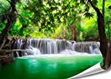 PMP-4life XXL Poster Wasserfall in Thailand Natur HD 140cm