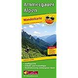 Wanderkarte Ammergauer Alpen: Mit Ausflugszielen, Einkehr- & Freizeittipps sowie Mediationsweg Ammergauer Alpen, wetterfest, reißfest, abwischbar, GPS-genau. 1:35000