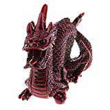Fityle Chinese Zodiac Resin Unicorn Dragon Figurine Hand Painted Toy Home Ornaments