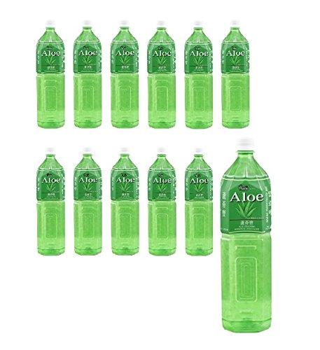 18 L Aloe Vera Drink 12x 1,5L Flasche Aloe Vera Saft AloeVera mit Fruchtfleisch