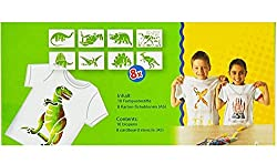 Toys Bhoomi Malinos 10 Piece Magic Textile Blopens to Create & Draw Design on your T-Shirts , Bags (Washable) 300991 - MADE IN GERMANY