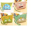 ShopNgift Stylish Monster Case Pouch purse For Earphone coin Pouch Case Bag Coins Memory Card Pouch Pendrive Bag Pouch box Case Jewllery Box keys Pouch Bag Case Wallet Pouch Mini Purse Accessories kit pouch box organizer gift for womens girls ladies gifts (Random Prints) Earphone Case coin Pouch Bag | Return Gift | Birthday Gifts 1 PC