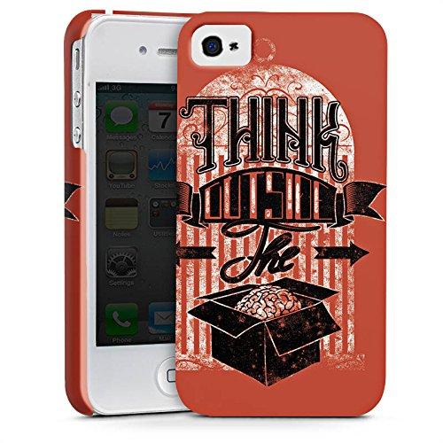 Apple iPhone X Silikon Hülle Case Schutzhülle Gedanken Selbstständig Statement Premium Case glänzend