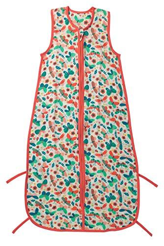 Schlummersack Baby Sommerschlafsack Musselin für Baby circa0.5Tog-Schmetterling-12-36Monate/110cm (Baby-dusche-geschenk-sack)